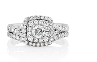 wedding rings from Diamonds.co.nz